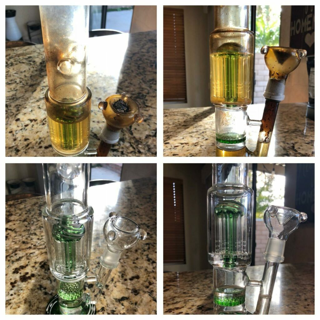 How To Clean A Bong With Household Items